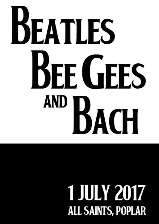 London Docklands Singers : Beatles Bee Gee and Bach : July 2017